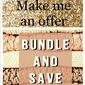 Bundle items and receive a discount